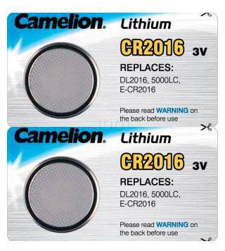 Télécommande CR2016-X2 de marque PILE