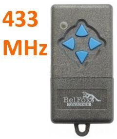 Télécommande 433 MHZ 4K de marque BELFOX