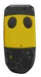 Telecommande CARDIN S449 QZ2 YELLOW