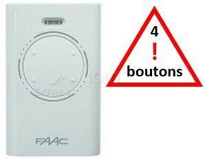 Télécommande XT4 433 SLH de marque FAAC