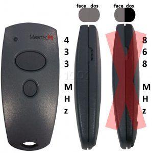 Télécommande D302-433 de marque MARANTEC