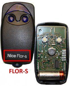 Télécommande FLO2R (ROLLING CODE) de marque NICE