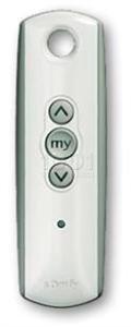 telecommande somfy telis 1 rts white. Black Bedroom Furniture Sets. Home Design Ideas