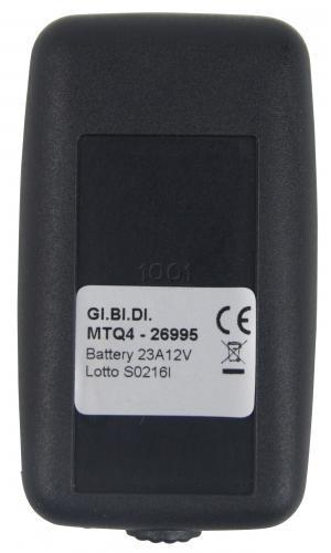 GIBIDI MTQ4 26.995 MHZ