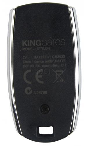 KING-GATES STYLO 4