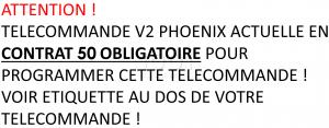 V2 PHOENIX CONTRAT 50
