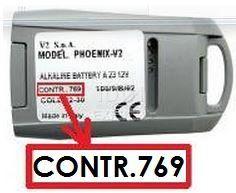 V2 PHOENIX 4 CONTRAT 769