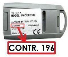 V2 PHOENIX CONTRAT 196